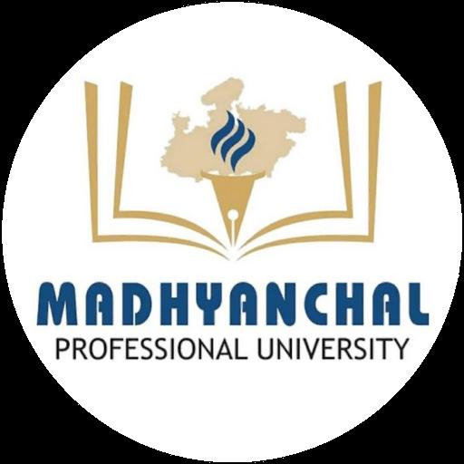 madhyanchal professional university logo